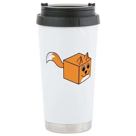 The Fox Box Stainless Steel Travel Mug