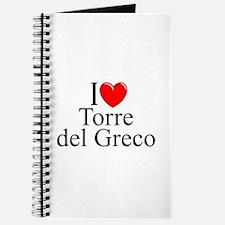"""I Love (Heart) Torre del Greco"" Journal"