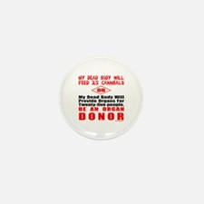 ORGAN DONOR Mini Button (10 pack)