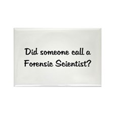 Forensic Scientist Rectangle Magnet (10 pack)