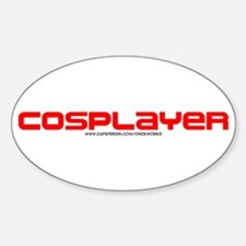 Cosplayer Oval Decal
