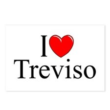 """I Love (Heart) Treviso"" Postcards (Package of 8)"