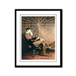 "Tesla-3 11"" hi image Framed Panel Print"