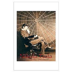 "Tesla-3 25.7"" hi image Posters"