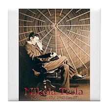 Tesla-3 Tile Coaster