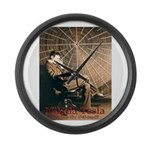 Tesla-3 Large Wall Clock