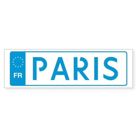 Paris Bumper Sticker