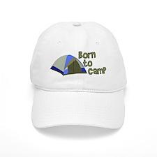 Born To Camp Baseball Cap