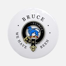 Clan Bruce Ornament (Round)