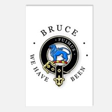 Clan Bruce Postcards (Package of 8)