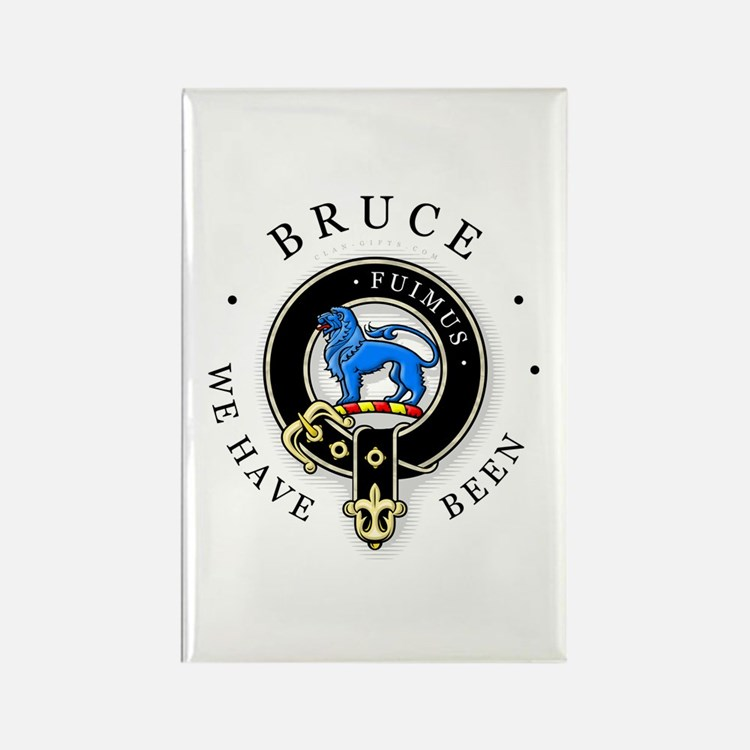 Clan Bruce Rectangle Magnet