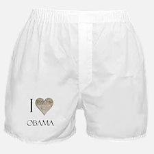 I Heart Obama Boxer Shorts