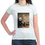 Tesla-3 Jr. Ringer T-Shirt