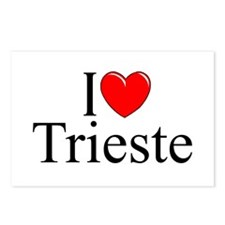 """I Love (Heart) Trieste"" Postcards (Package of 8)"