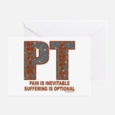 PHYSICAL THERAPIST Greeting Card