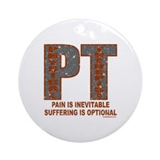 PHYSICAL THERAPIST Ornament (Round)