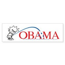 Piss on Obama Bumper Bumper Sticker