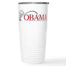 Piss on Obama Stainless Steel Travel Mug