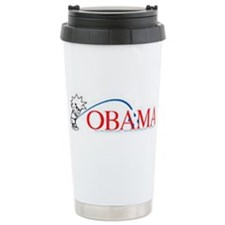 Piss on Obama Travel Mug