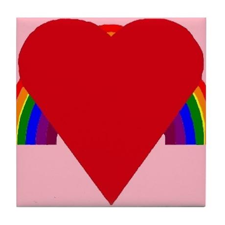 Heart 'Bo' Tile Coaster