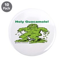 """Holy Guacamole 3.5"""" Button (10 pack)"""