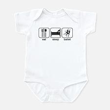Eat Sleep Ballet Infant Bodysuit