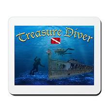 Treasure Diver Mousepad