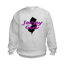 JERSEY GIRL SHIRT BABY CLOTHES BIB ONSIE GIFT Sweatshirt
