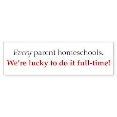 Bumper Sticker - every parent