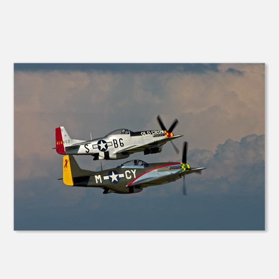 P-51 Mustang formation Postcards (Package of 8)