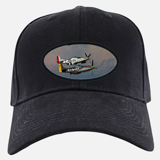 P-51 Mustang formation Baseball Hat