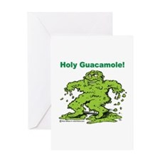 Holy Guacamole Greeting Card