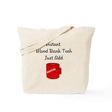 Blood Bank Tech Tote Bag