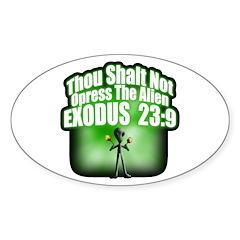 Exodus Oval Decal