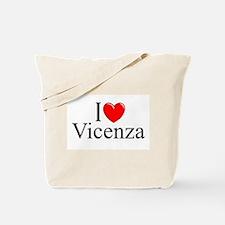 """I Love (Heart) Vicenza"" Tote Bag"