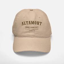 altamont free concert Baseball Baseball Cap