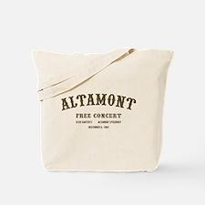 altamont free concert Tote Bag