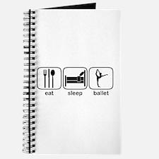 Eat Sleep Ballet 2 Journal