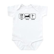 Eat Sleep Ballet 2 Infant Bodysuit