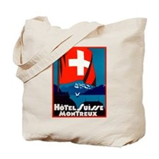 Hotel Suisse (Montreux) Tote Bag