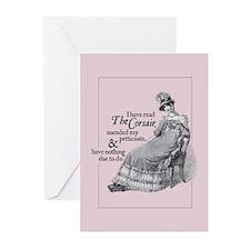 Jane Austen Corsair Greeting Cards