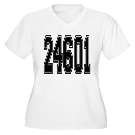 Valjean halfback Women's Plus Size V-Neck T-Shirt