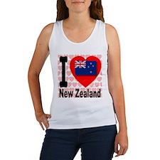 I Love New Zealand Women's Tank Top