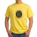 75th Security Forces SQ Yellow T-Shirt
