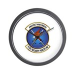 75th Security Forces SQ Wall Clock