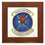 75th Security Forces SQ Framed Tile