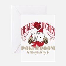 Hell's Kitchen Poker Greeting Card