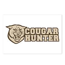 cougar hunter Postcards (Package of 8)