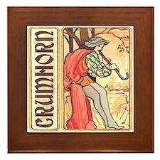 Crumhorn Framed Tile