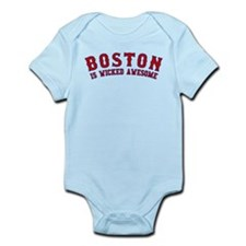 boston is wicked awesome Infant Bodysuit